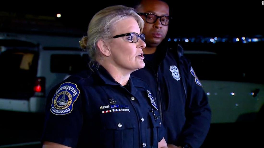Police hold press conference after multiple shot