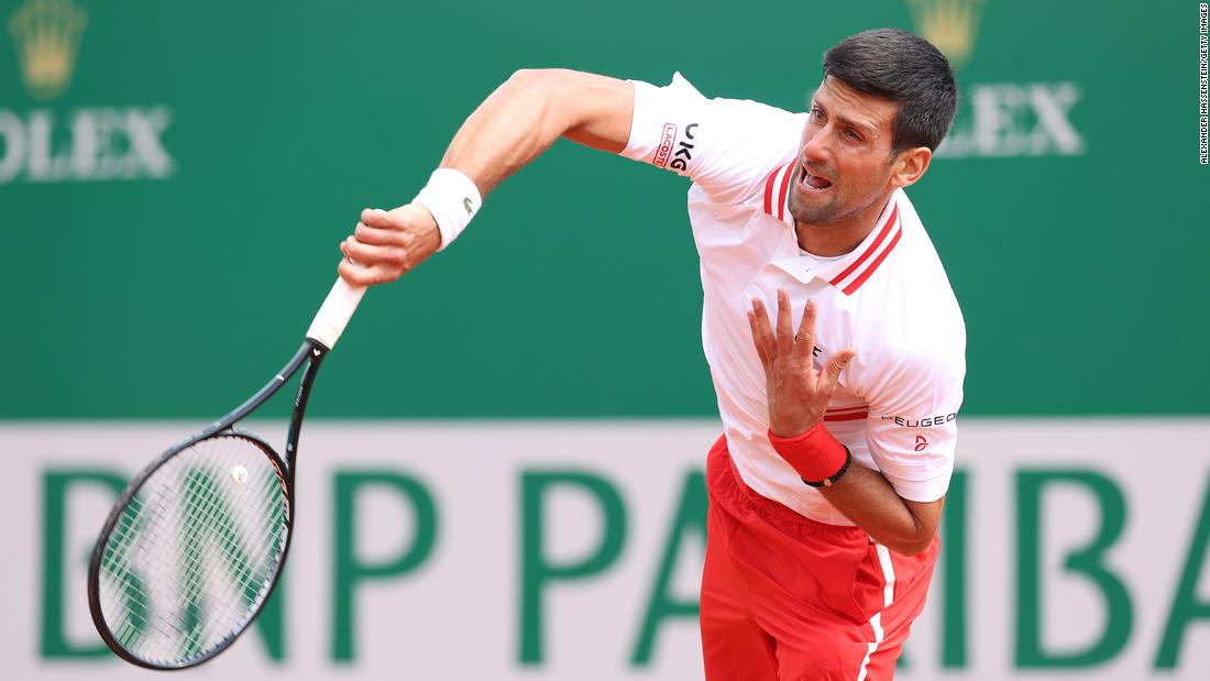 Novak Djokovic's clay-court campaign is up and running -- but not in the way he wanted