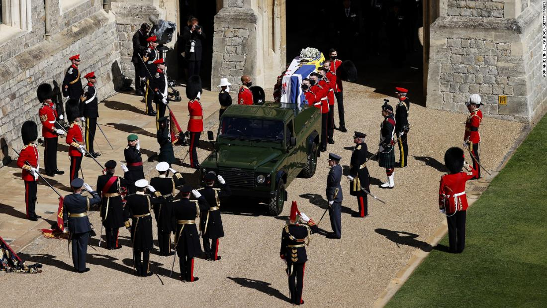 See memorable moments from Prince Philip's funeral