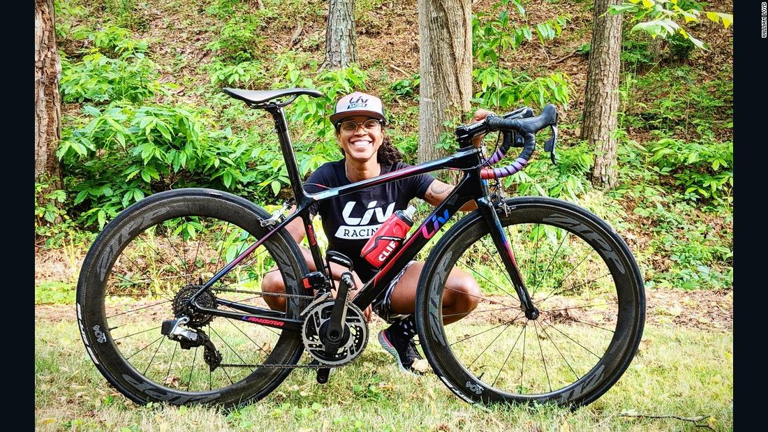 Meet Ayesha McGowan, the first Black American woman in pro cycling: 'The thing that we're working for isn't just existing in a space, it's thriving'