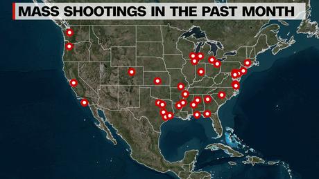 A stunning visualization of America's mass shooting problem