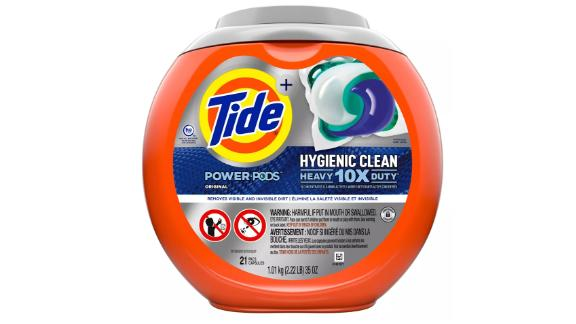 Tide Power Pods Hygienic Clean Heavy Duty 10X