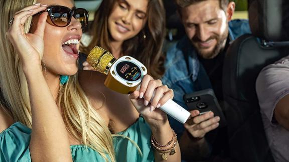Singing Machine Official Carpool Karaoke Mic