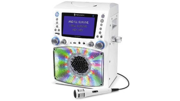 Singing Machine Bluetooth Karaoke Machine With Disco Lights
