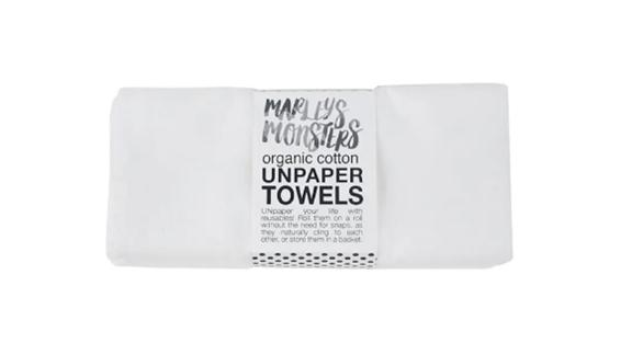 Marley's Monsters 6-Pack Organic Cotton Unpaper Towels