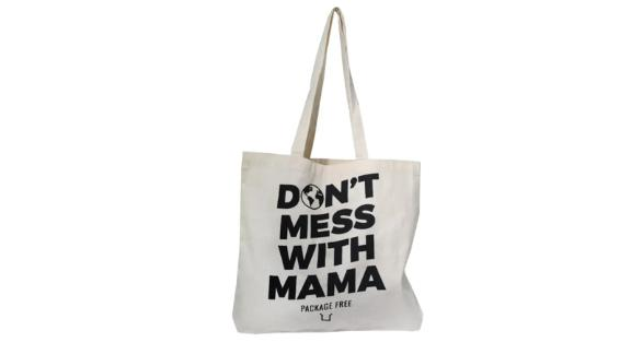 Package Free x Gallant Don't Mess With Mama Organic Cotton Tote