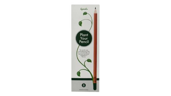 Package Free x Sprout 8-Pack Plantable Pencils