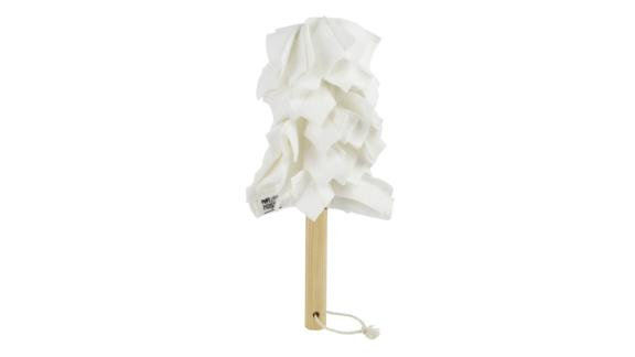 Package Free x Marley's Monsters Washable Fleece Duster & Wood Handle
