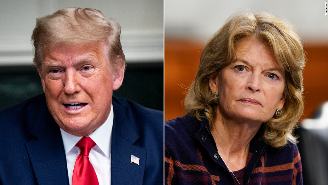Trump's fight with Murkowski roils GOP with new Alaska Senate challenger emerging – CNN