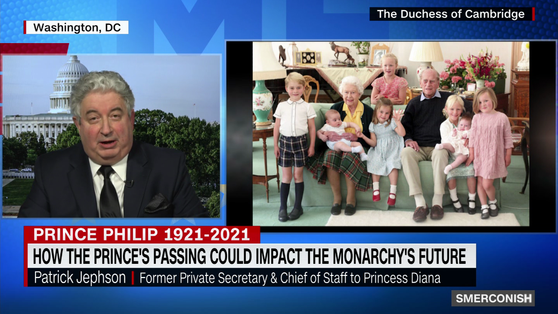 Princess Diana's chief of staff on Prince Philip's funeral – CNN Video