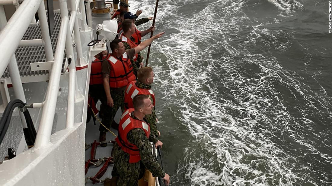 Two more bodies identified as search continues for missing crew of ship that capsized off Louisiana coast