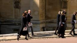 Princes Harry and William seen together at Prince Philip's funeral – CNN Video