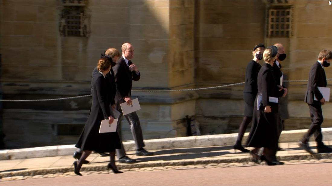 'Enormously important': Foster on images of princes at funeral