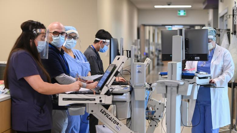 Canada's healthcare workers brace for the painful blow of a punishing third wave