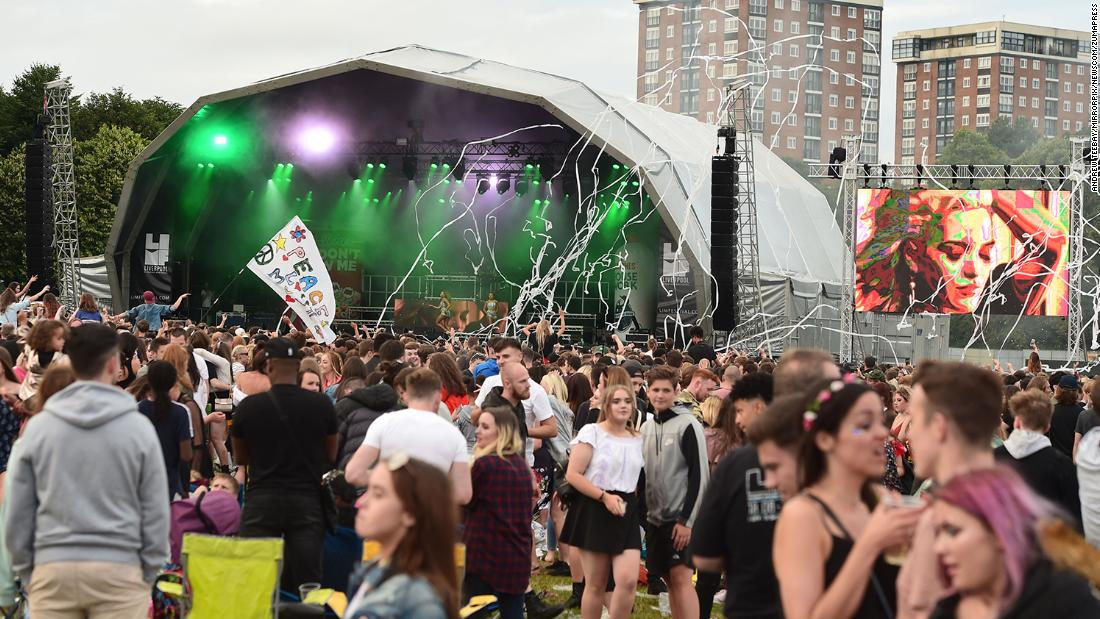 Non-socially distanced music festival to be trialed