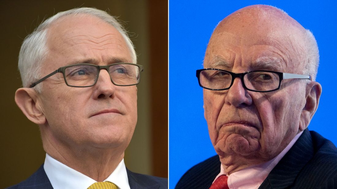 Ex-Australian PM: Murdoch didn't think Trump was qualified to be president
