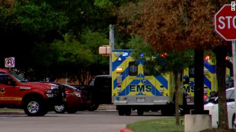 EMS, police and fire officials responded to a shooting incident in Austin, Texas.