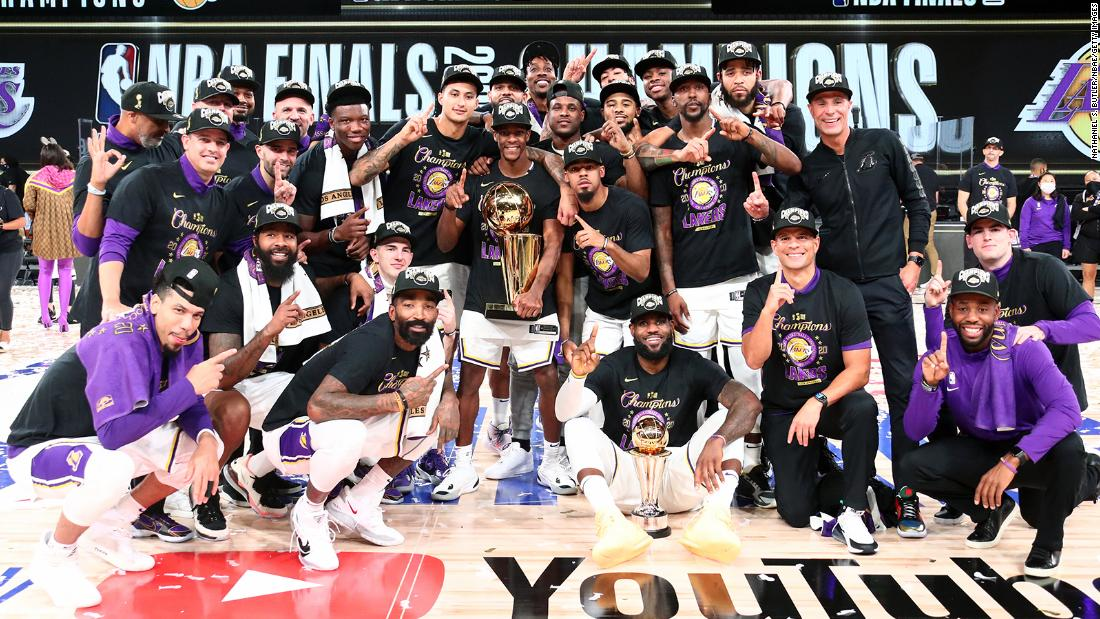 Los Angeles Lakers will skip team's White House visit scheduled for this month, report says