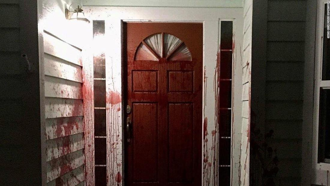 Pig's blood smeared on former home of use-of-force expert who testified in Chauvin trial