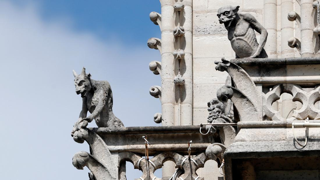 You can adopt one of Notre-Dame's grotesque stone creatures to help fund rebuilding