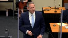 Prosecutor Steve Schleicher asked jurors to find Chauvin guilty on all three charges.