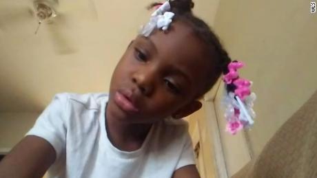 Jaslyn Adams was 7 years old.