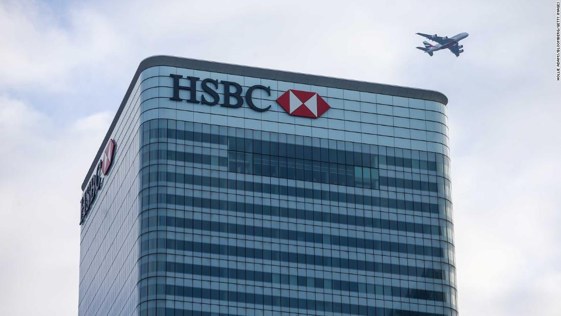 HSBC's CEO is swapping his office for a hot desk