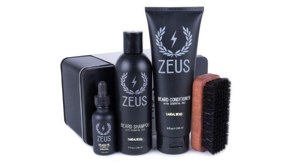 Zeus Deluxe Beard Grooming Kit