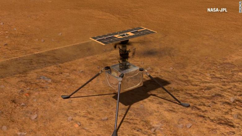 Mars Ingenuity helicopter completes its toughest flight yet