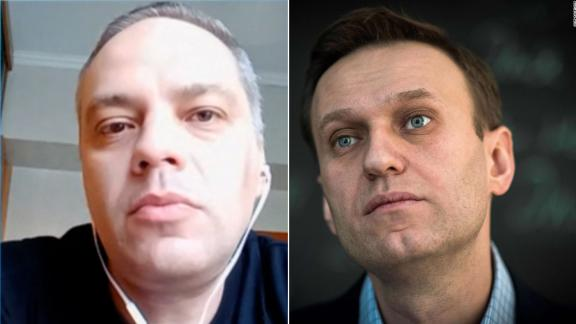 A split of Alexey Navalny and Vladimir Milov, one of his advisers.