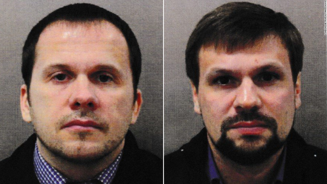 Two Russian agents linked to a high-profile poisoning and a deadly explosion
