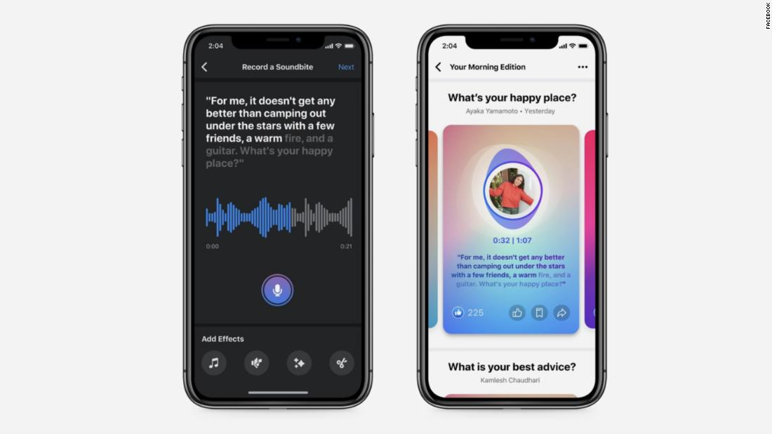 Facebook is joining the (very) crowded audio space with soundbites, live rooms and podcasts
