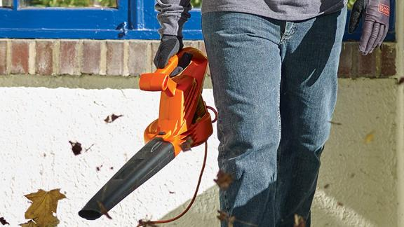 Black+Decker Electric Leaf Blower
