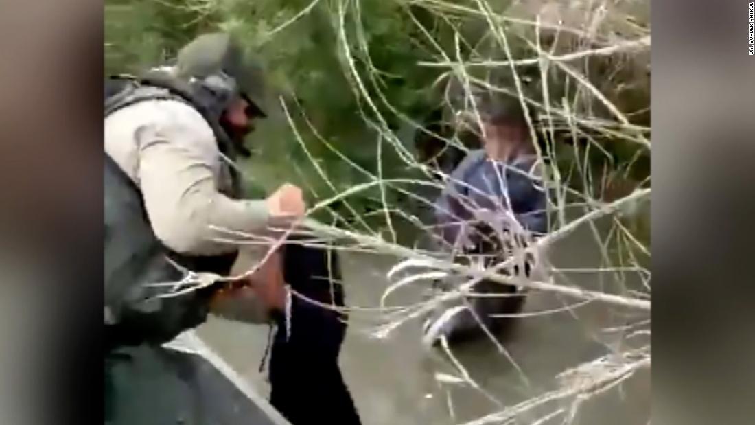 Video captures Border Patrol rescue of two migrant children in Rio Grande