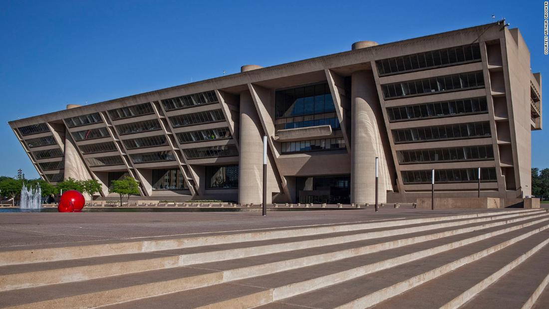 From Brutalist Boston to Modernist Palm Springs, America's most eye-catching city halls