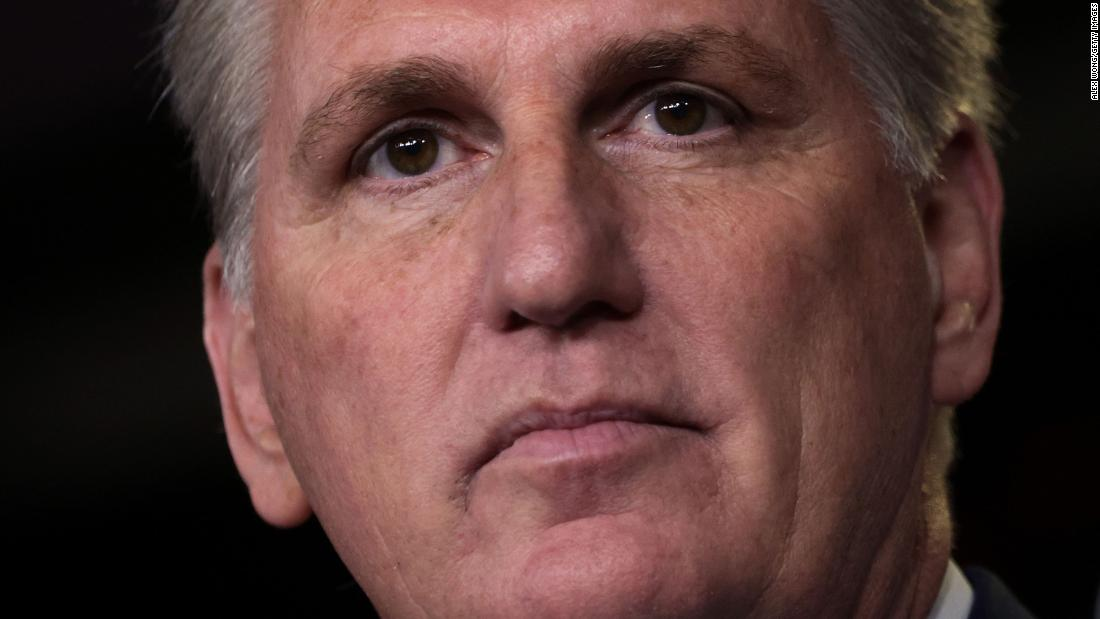Kevin McCarthy is pushing Liz Cheney out for saying almost exactly what he said after January 6