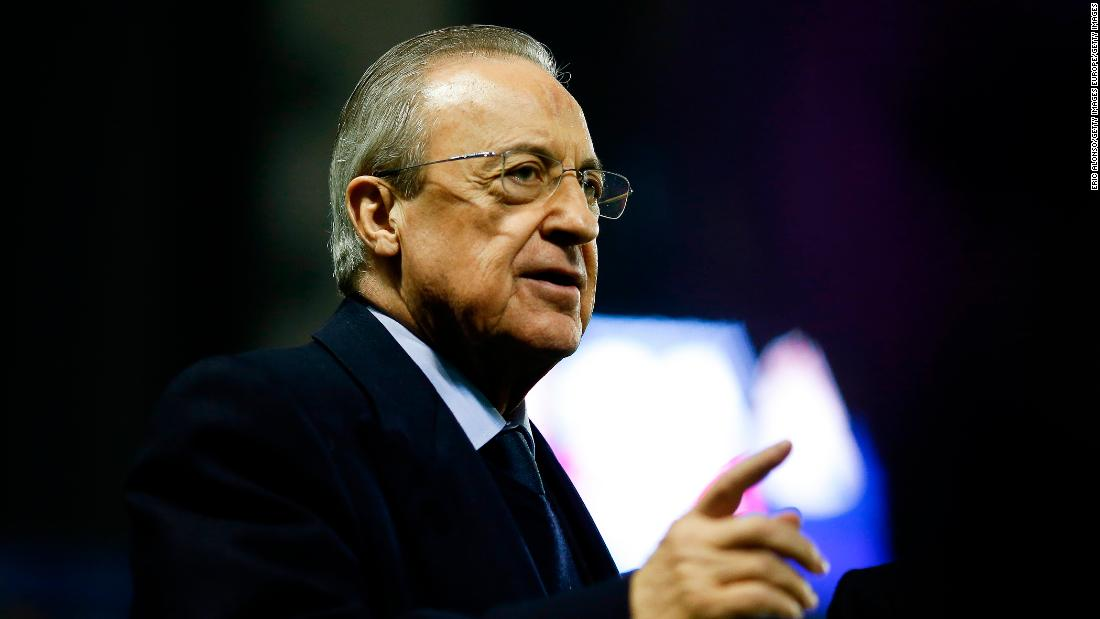 Real Madrid president insists Super League isn't canceled, only on 'standby'
