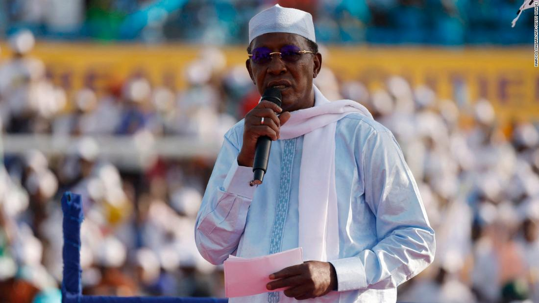 Chad's President Idriss Deby killed in frontline clashes with rebels, state TV reports