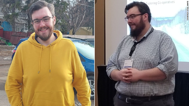 A man lost 150 pounds in lockdown. Now he's chasing a number not measured in pounds