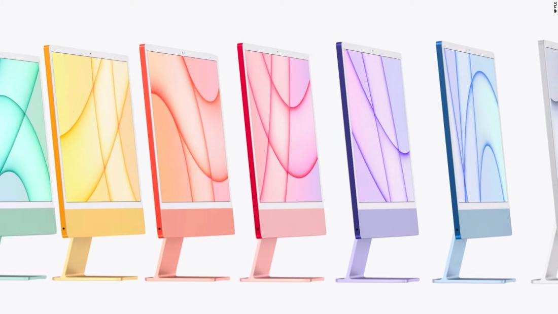 Apple unveils a new iPad Pro, colorful iMacs, AirTag and more