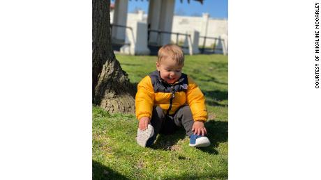 McCarley's son is now a healthy 16-month-old toddler.