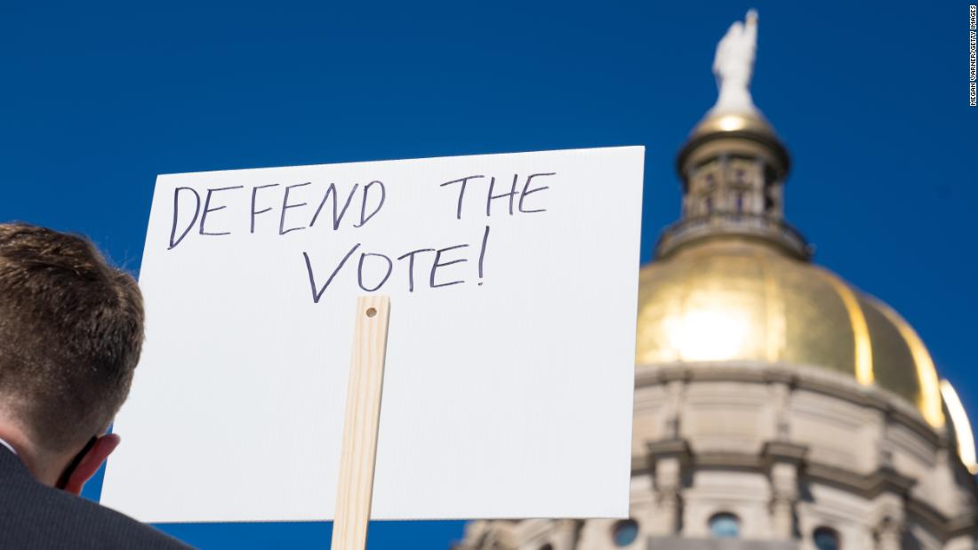 One of America's top trade groups under fire for its stance on voting rights