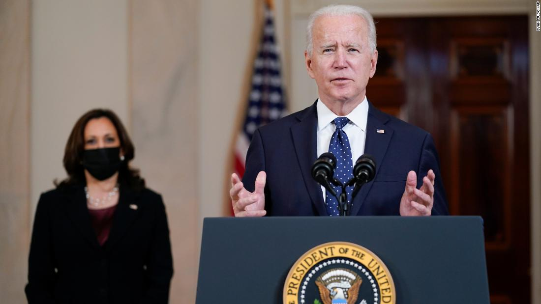 Biden says verdict in Chauvin trial could be a step toward racial justice in America and urges country to come together