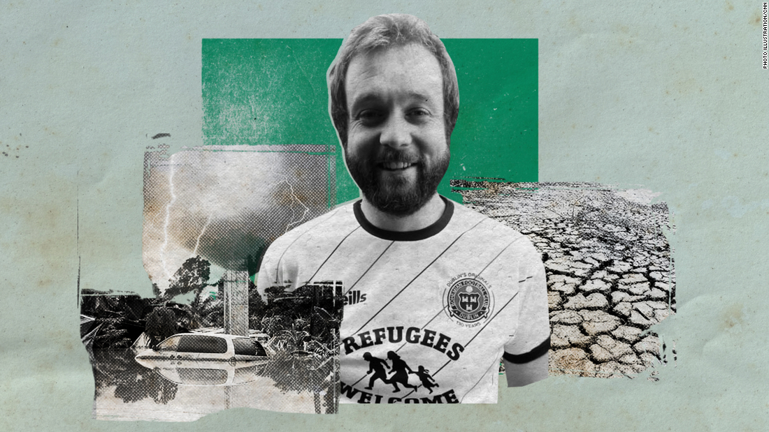 Seán McCabe: World football's first Climate Justice Officer