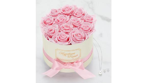 Magnificent Roses Preserved Pearl Roses