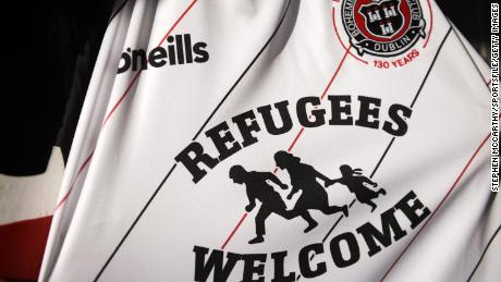 Bohemians partnered with Amnesty International on the shirt design which proved to be a hit with fans around the world