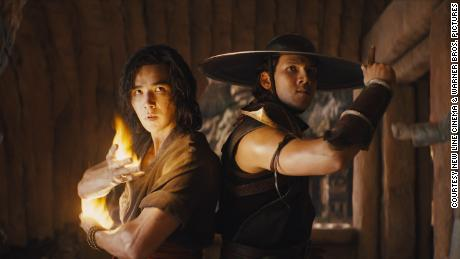 Ludi Lin and Max Huang in 'Mortal Kombat' (Courtesy New Line Cinema & Warner Bros. Pictures).
