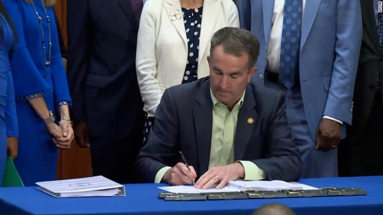 Virginia governor signs bill legalizing marijuana possession starting this summer