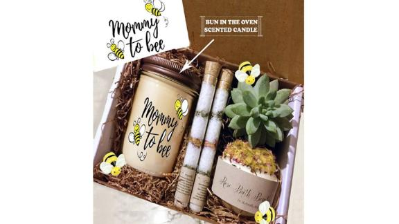 Mommy to Be Succulent & Spa Gift Box