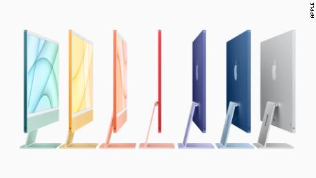 The colorful new iMac line